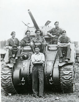 no.3 squadron lt whittley tank crew