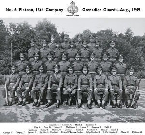 no.6 platoon 13th company august 1949 dilworth
