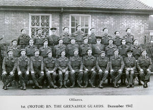 officers 1st (motor) battalion december 1942