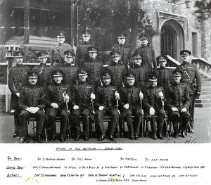 officers 2nd battalion 1931 maitland-addison