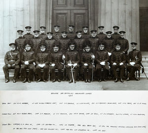 officers 3rd battalion 1925 herbert alston-roberts-west