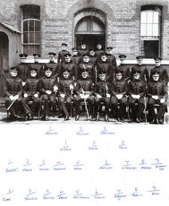 officers hanning belville packenham h-percy davies