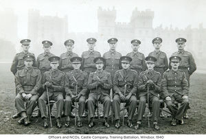 officers and ncos castle company training battalion