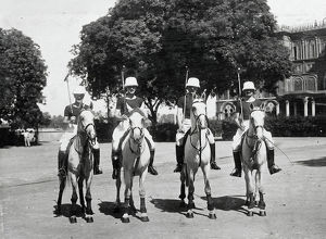 officers polo team lieut p d miller capt &amp adjt e h goulburn