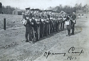 opening camp 1913