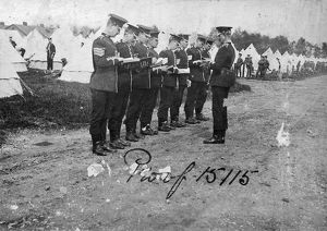pirbright camp 1913