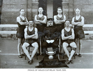 prince of wales cup relay team 1935