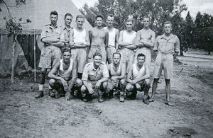 qm staff 5th battalion september 1943 tunisia