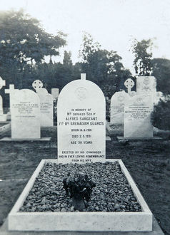sgt alfred sergeant tombstone