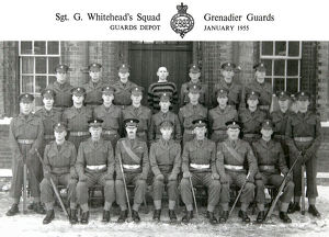 sgt g whitehead s squad january 1955