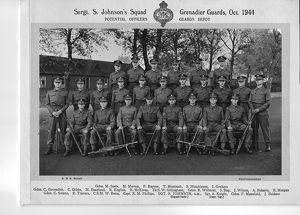 Sgt Johnson PO squad Gds Depot Oct 1944