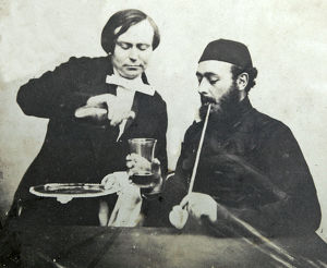 sir henry fletcher with mess waiter windsor