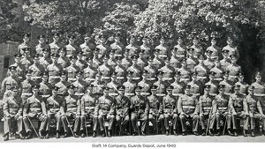 staff 14 company guards depot june 1940