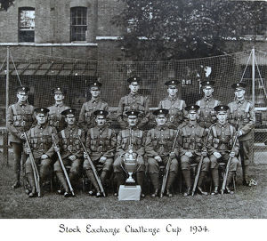 stock exchange challenge cup 1934