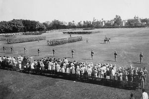 trooping the colour gezira island 1932