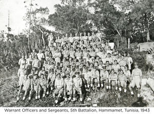 warrant officers and sergeants 5th battalion
