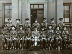 wellington barracks sergeants 1930