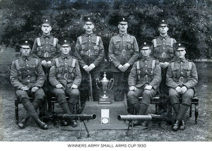 winners army small arms cup 1930