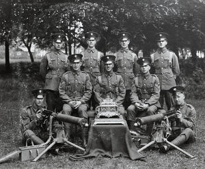 winners dewar trophy 1930 machine gun challenge