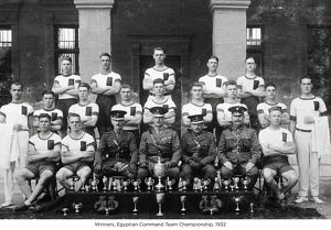winners egyptian command team championship 1932