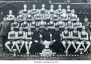 winners lawson cup 1934