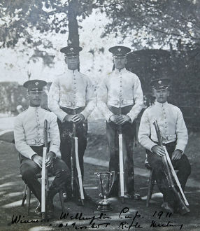 winners wellington cup 1911 aldershot rifle meeting